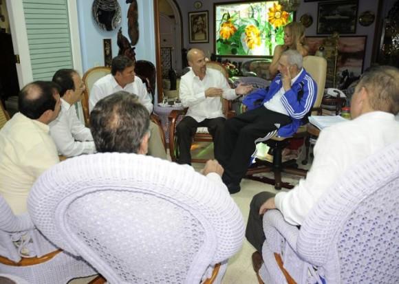 Fidel y los cinco 5