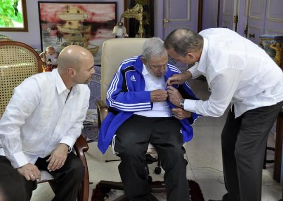 Fidel y los cinco 7